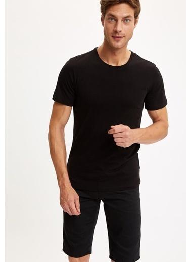 DeFacto Tişört Siyah